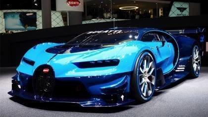 Bugatti Vision GT Sound