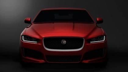 2016 Jaguar XE Transparent Bodywork
