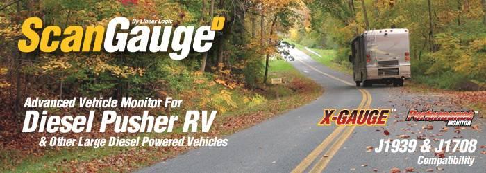 Scangauge Diesel Pusher RV