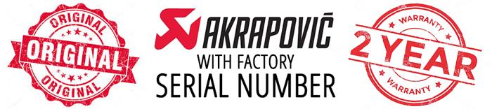 Original Akrapovic