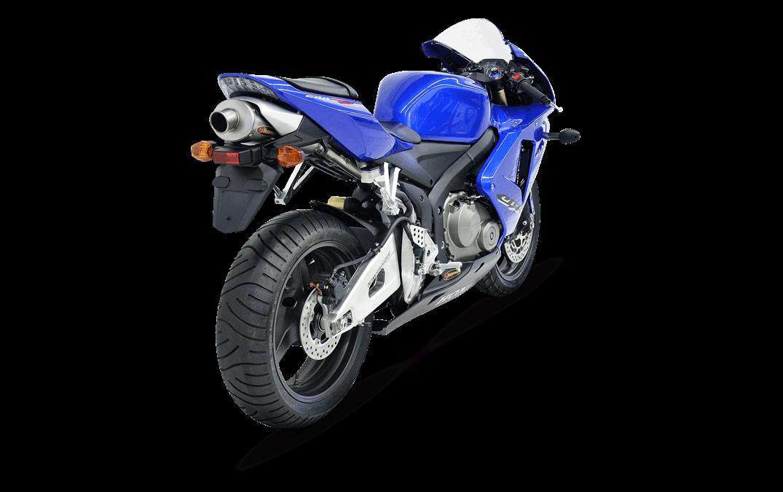 Racing Line Titanium Exhaust For Honda Cbr 600 Rr 05 06