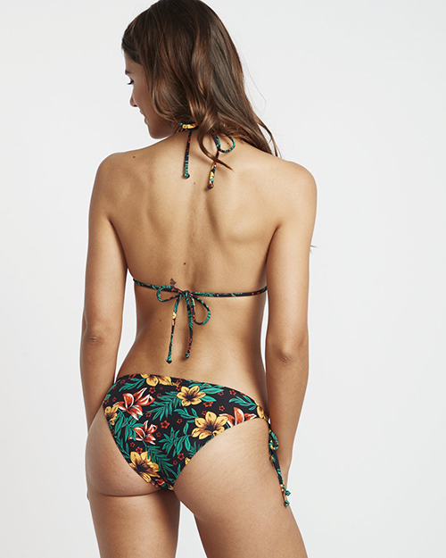 Tie Side Tropic Bikini Bo