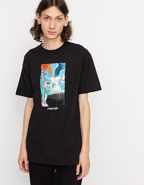 Men's Star Head Mural T-s