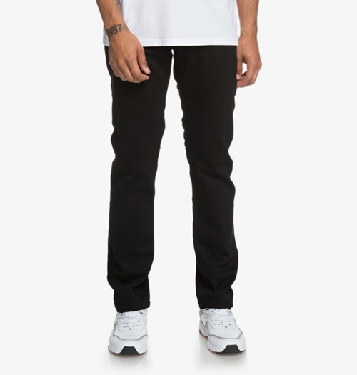 Worker Black Straight Fit