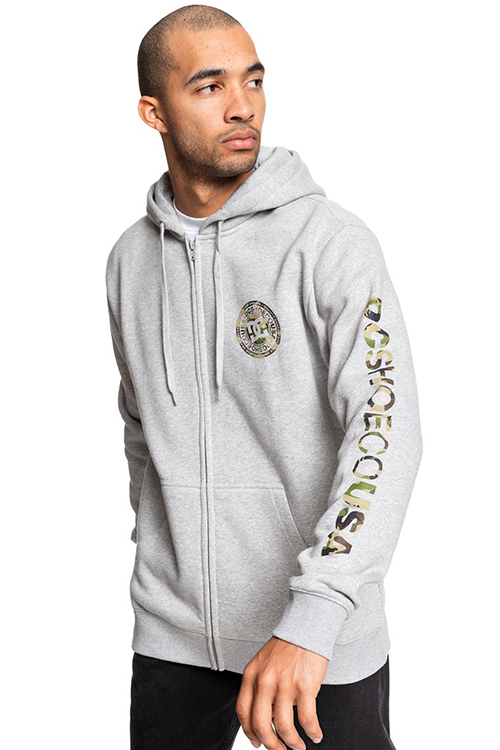 Men's Circle Star Zipped