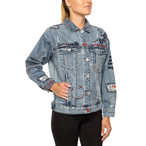 Women's Yes Jean Jacket