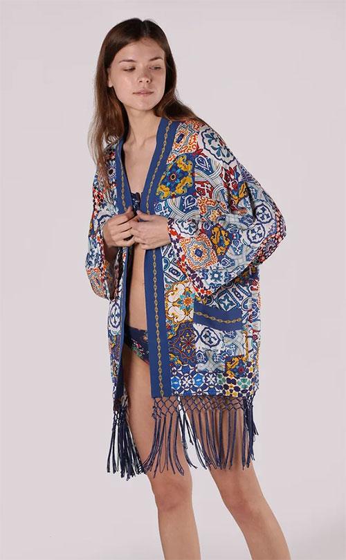 Women's Kimono Blouse