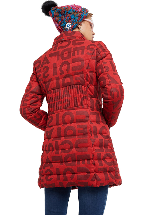 Women's Letras Padded Jac
