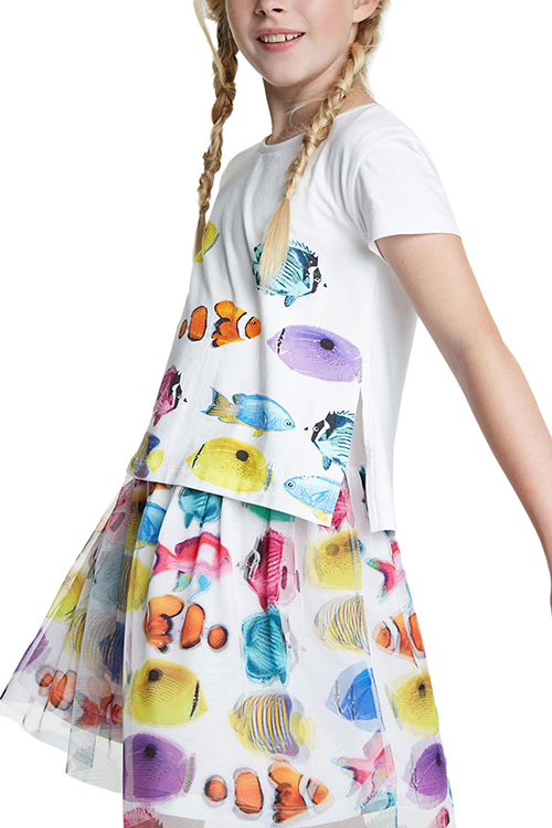 Girl's Xalapa Vest Dress