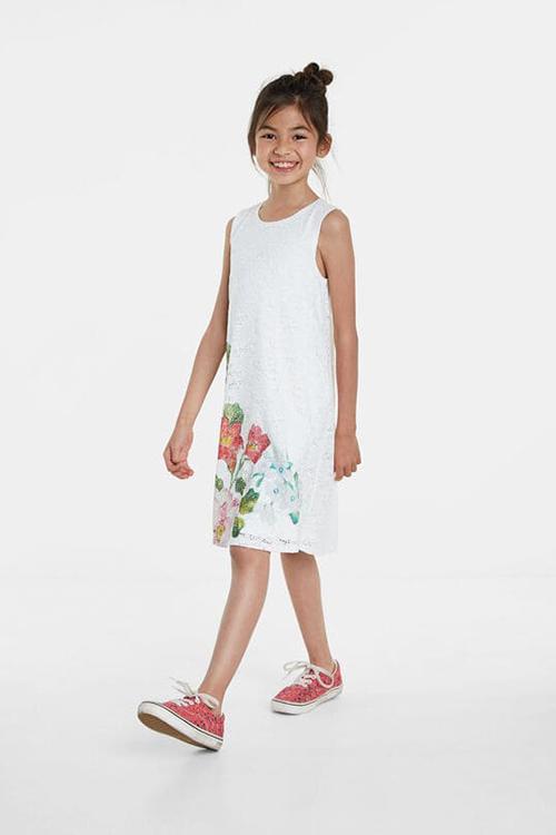 Girl's Casas Vest Dress