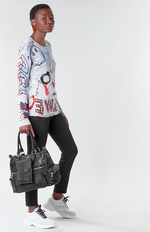 Women's Mar Knitted Blous
