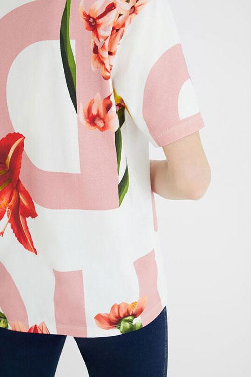 Desigual Women's Floral T
