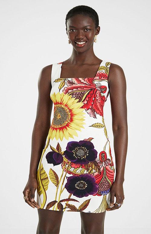 Desigual Women's Dress Wi