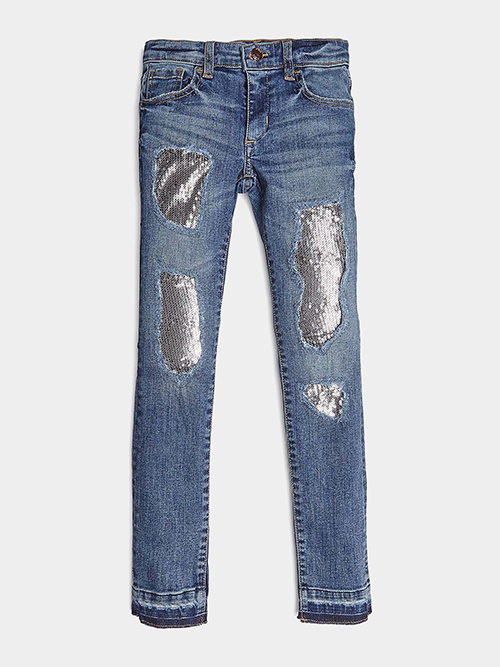 Girl's Skinny Denim Pants