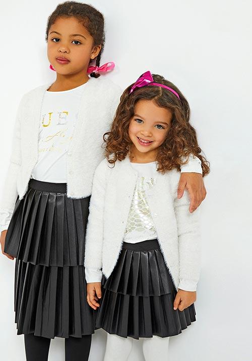 Girls' Pu Leather Skirt