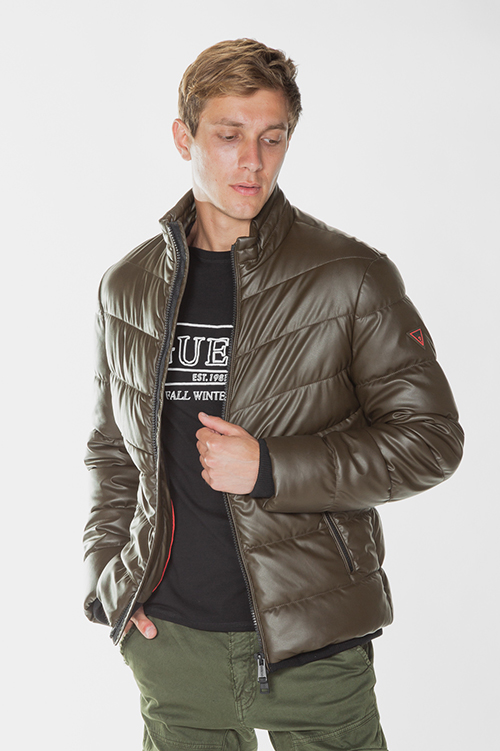 Men's Stretch Eco Leather