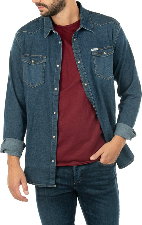 Men's Truckee Denim Shirt