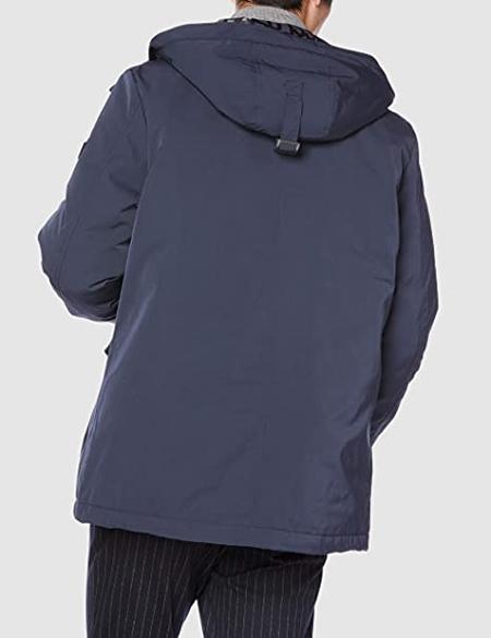 Guess Men's Faux Fur Hood