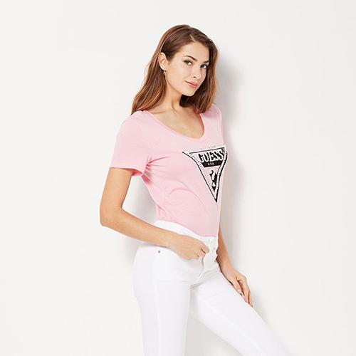 Guess Women's T-Shirt wit