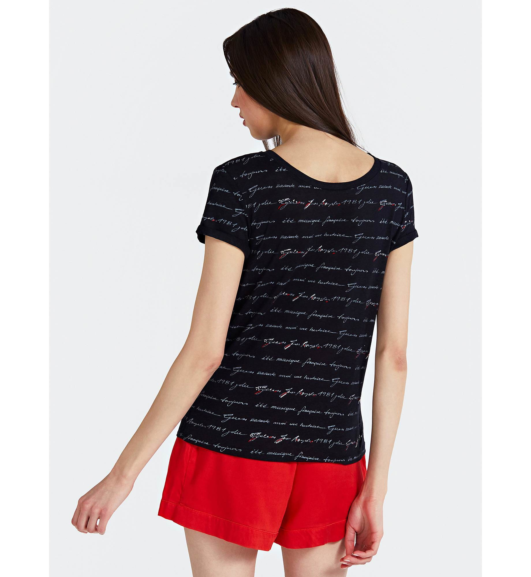 Guess Women's Letters T-S