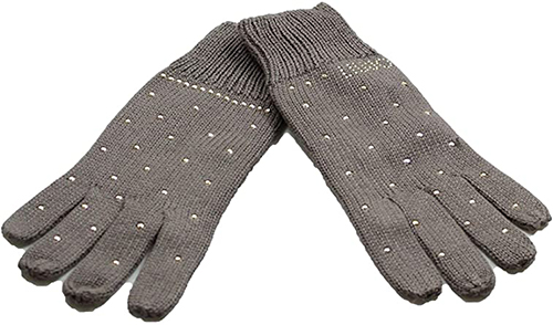 Women's Gloves With Studs