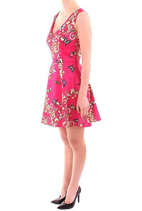 Women's Abito Print Dress