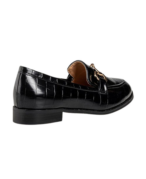 Miss NV Croco Loafers