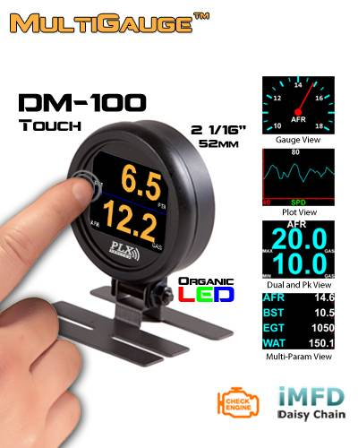 DM-100 OBDII/CAN 52mm Tou