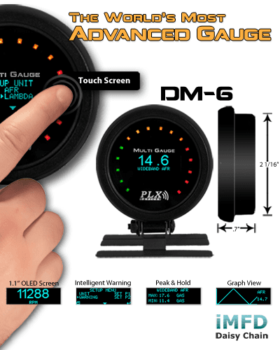 DM-5 Vacuum Boost Gauge