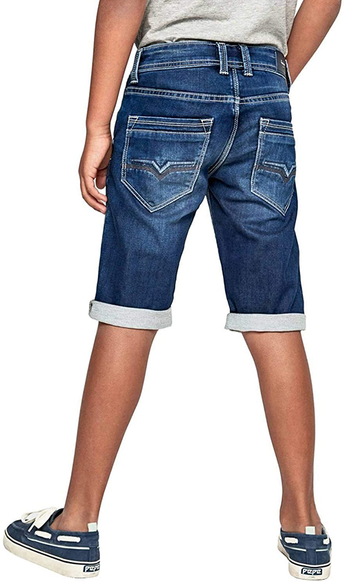 Boy's Cashed Denim Shorts