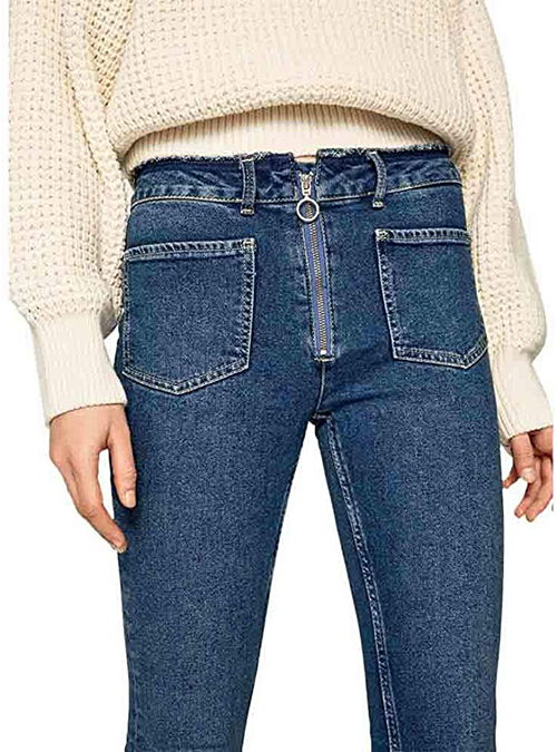 Mary Zip 28 Women's Jeans