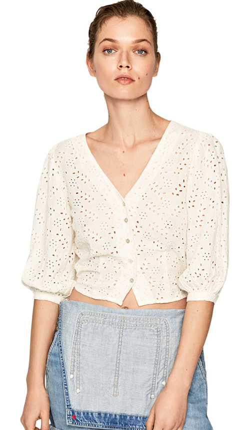 Women's Claudie Crop Shir