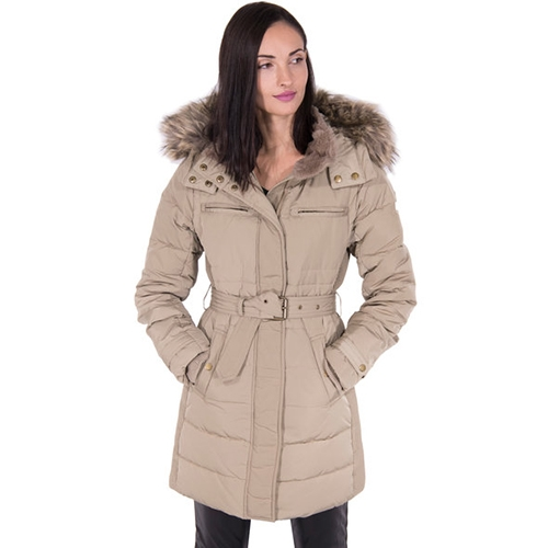 Lynn Real Down Long Parka