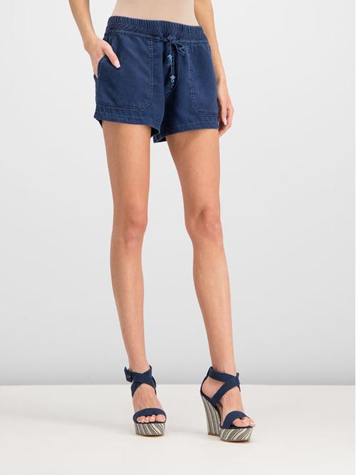 Sadoe Blue Women's Shorts