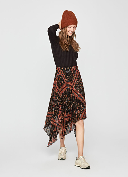 Suki Pleated Skirt