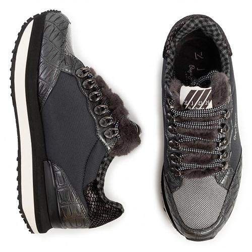Women's Zion Fur Sneakers