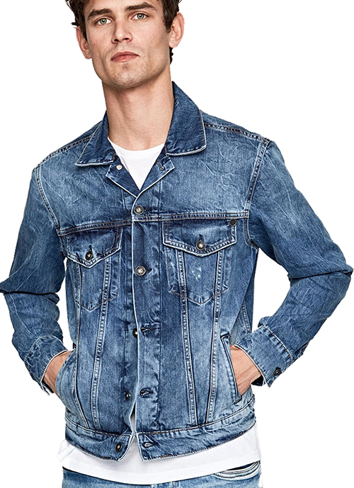Men's Pinner Denim Jacket