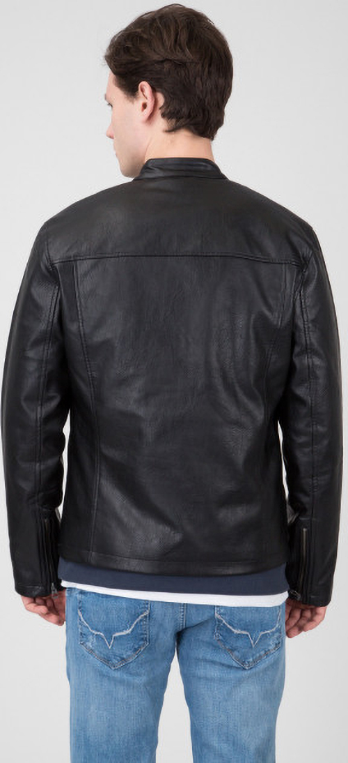 Benson Leather Jacket M