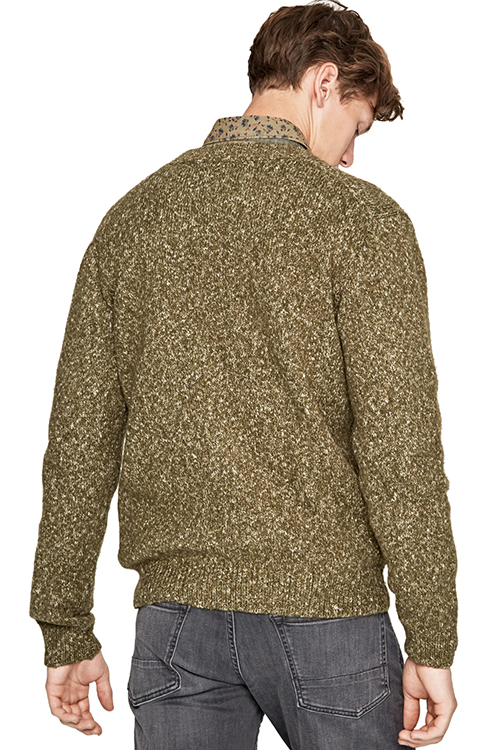Leo Men's Flecked Jumper