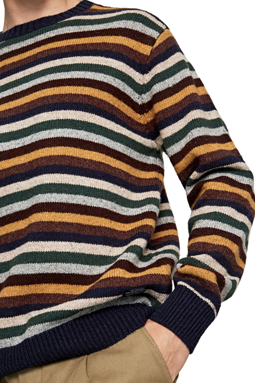 Alain Men's Striped Jumpe