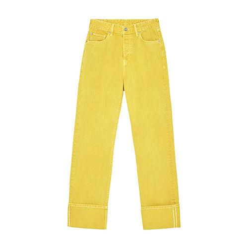 Women-DuaLipa-Extended-Coloured-Denim-Trousers