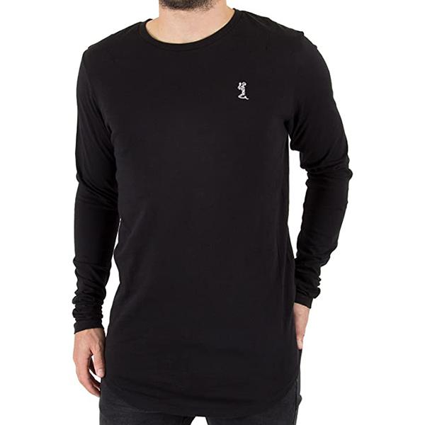 ReligionMen'sPlainLonglineLongsleevedT-shirt