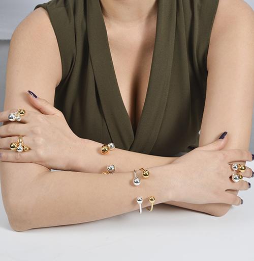 Silver Small Bracelet - B