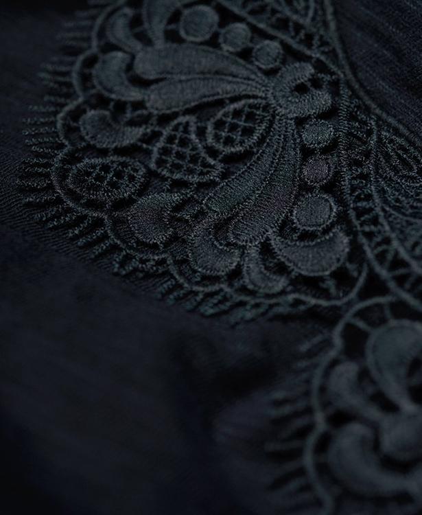 Morocco Lace Hem Vest