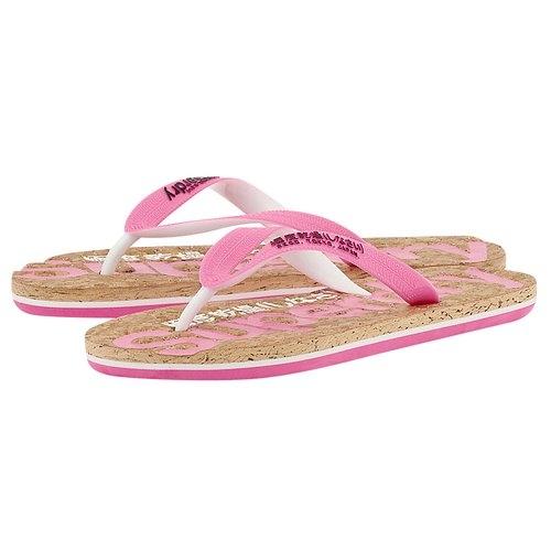 Glitter Cork Flip Flops