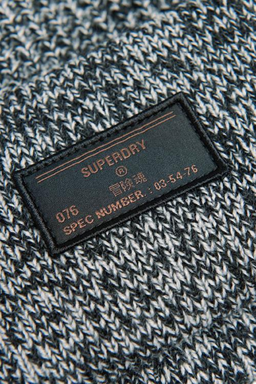 Grey Superdry Men/'s Stockholm Beanie