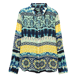 Women's Laos Ethnic Shirt