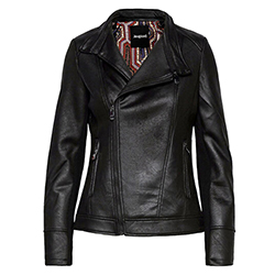 Women's Sven Leather Coat