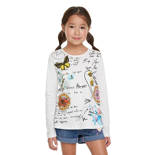 Girl's Reading T-Shirt