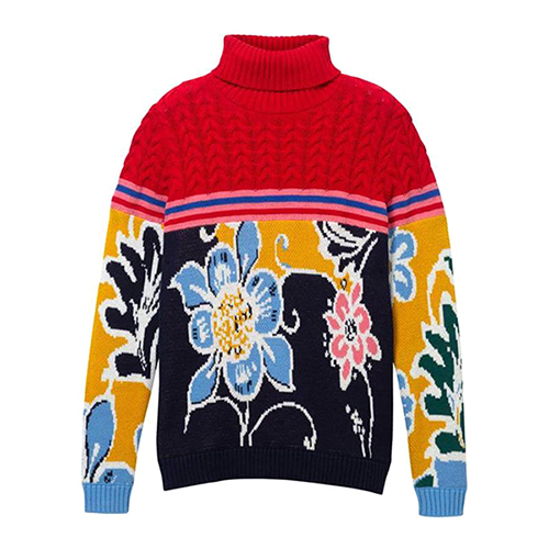 Women's Flowers Knitted B